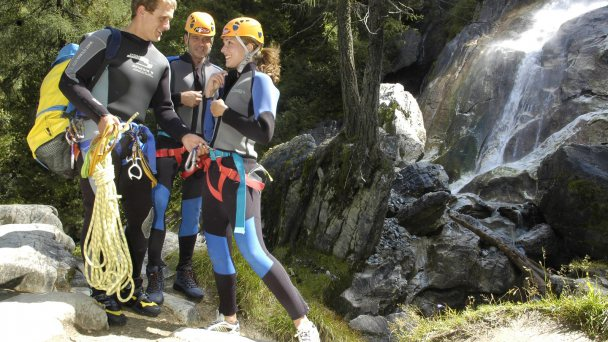 Natursport Wochen mit Rafting & Canyoning